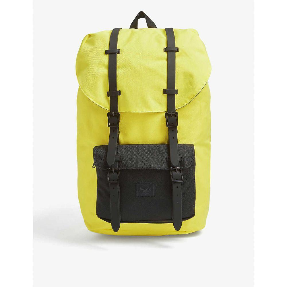 ハーシェル サプライ HERSCHEL SUPPLY CO レディース バックパック・リュック バッグ【Little American logo patch canvas backpack】Hlt/black