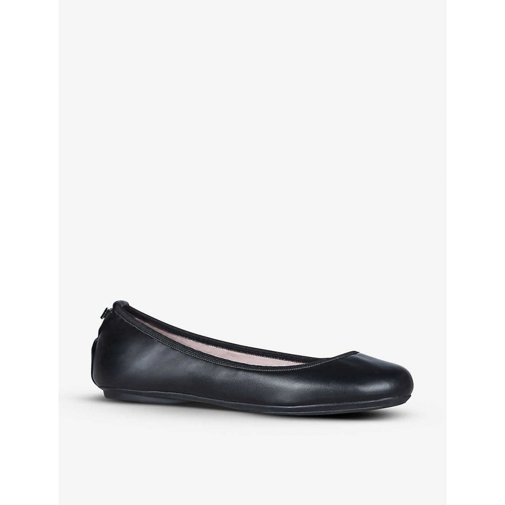 バタフライ ツイスト BUTTERFLY TWISTS レディース スリッポン・フラット シューズ・靴【Sophia foldable ballet flats】BLACK MONO