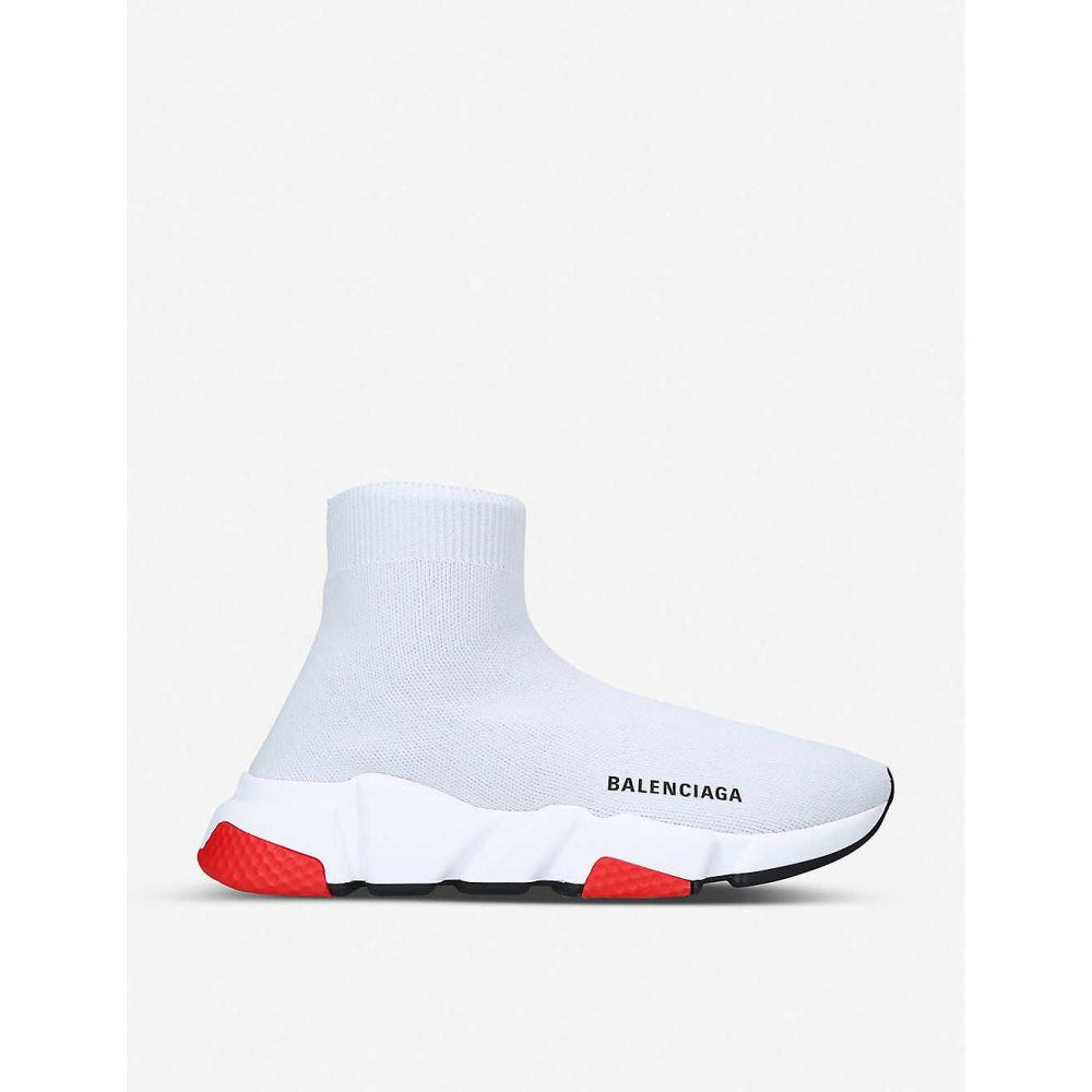 バレンシアガ BALENCIAGA レディース スニーカー シューズ・靴【Speed slip-on knitted mid-top trainers】GREY/LIGHT