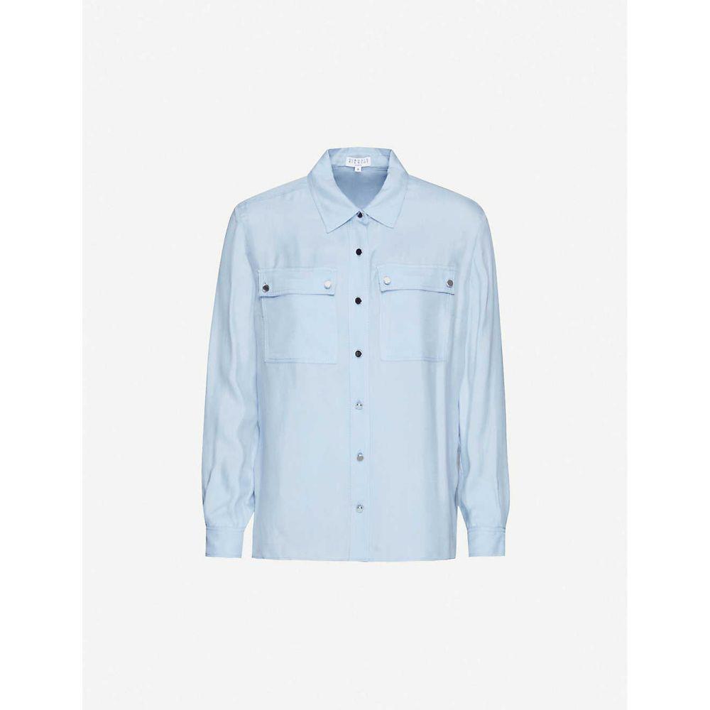 クローディ ピエルロ CLAUDIE PIERLOT レディース ブラウス・シャツ トップス【Captaine woven shirt】BLEUCIEL
