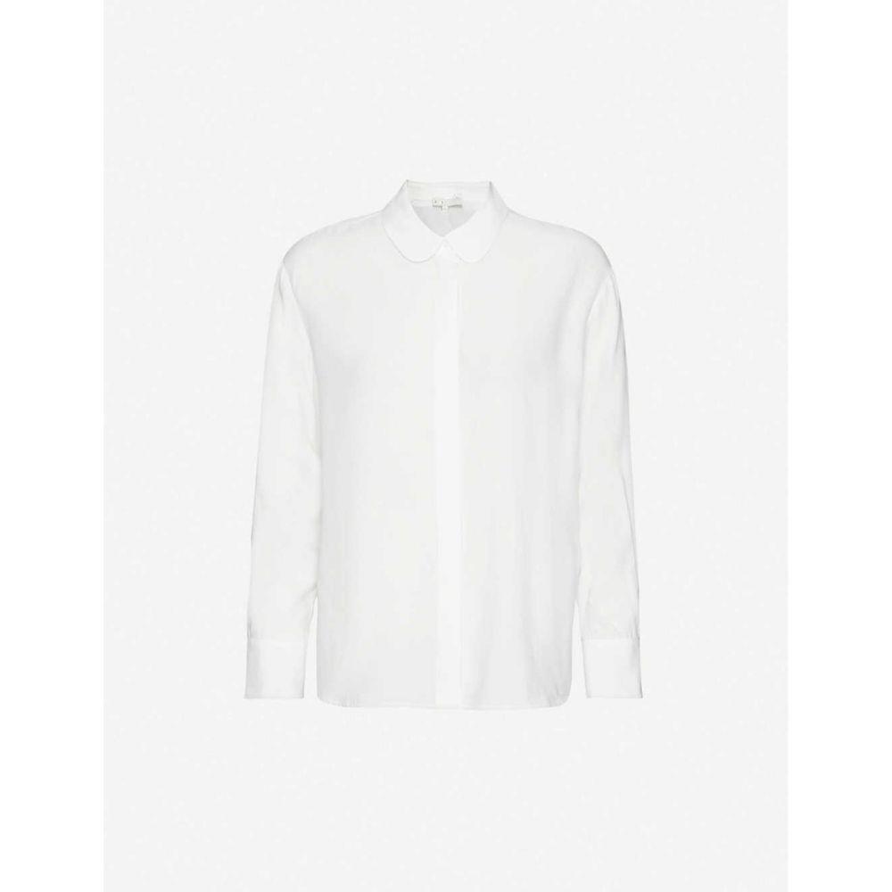 マージュ MAJE レディース ブラウス・シャツ トップス【Clara long-sleeved woven shirt】ECRU