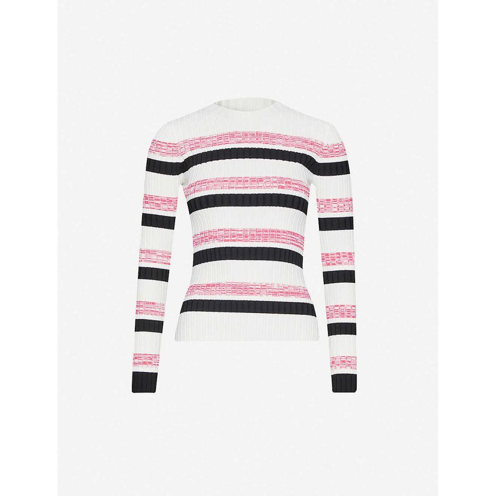 マージュ MAJE レディース ニット・セーター トップス【Manuel knitted jumper】ECRU