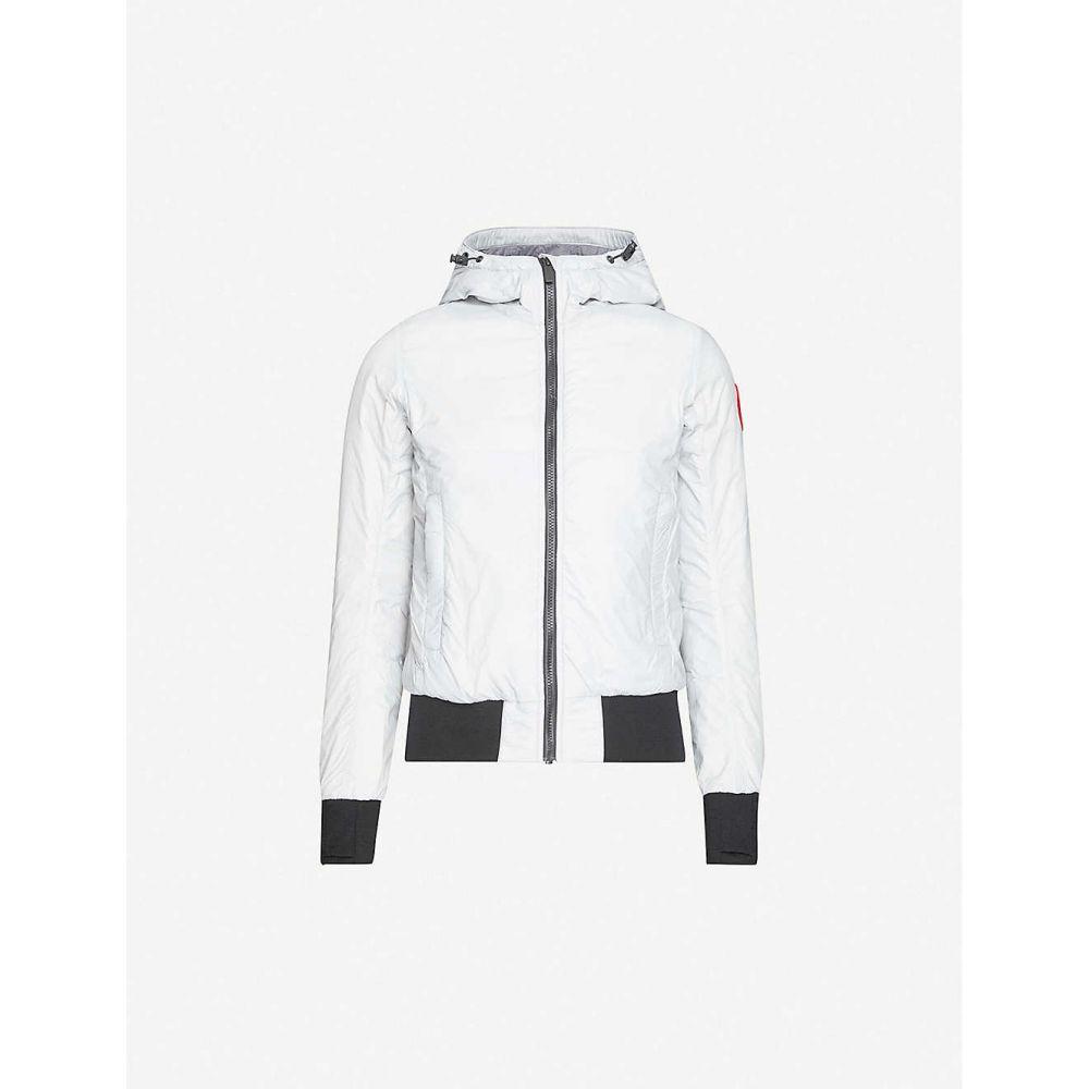 カナダグース CANADA GOOSE レディース ダウン・中綿ジャケット フード アウター【Dore hooded shell-down jacket】Silverbirch