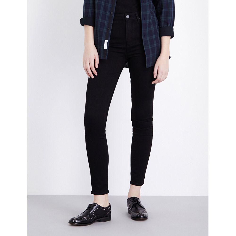 ペイジ PAIGE レディース ジーンズ・デニム ボトムス・パンツ【Margot ultra-skinny high-rise jeans】BLACK SHADOW