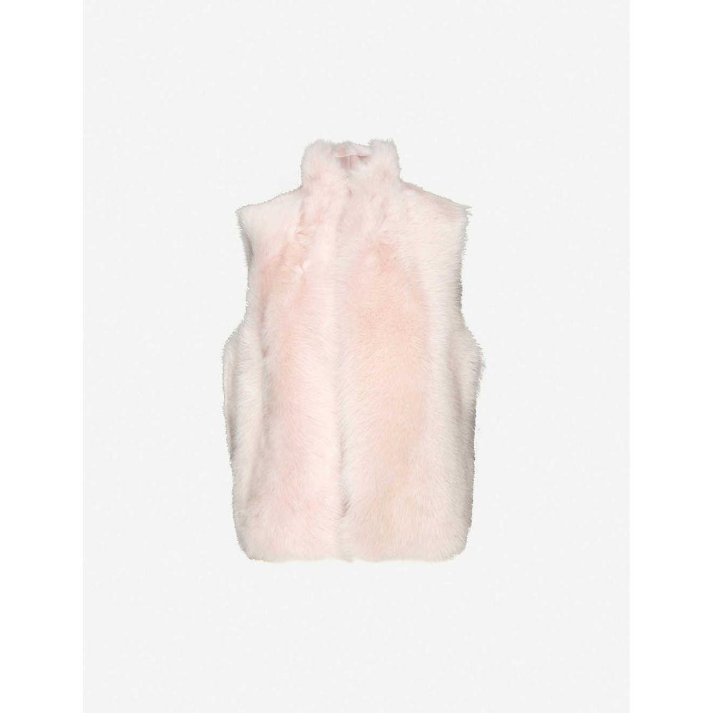 ホイッスルズ WHISTLES レディース ベスト・ジレ トップス【Toscana Sheepskin Gilet】Pale Pink