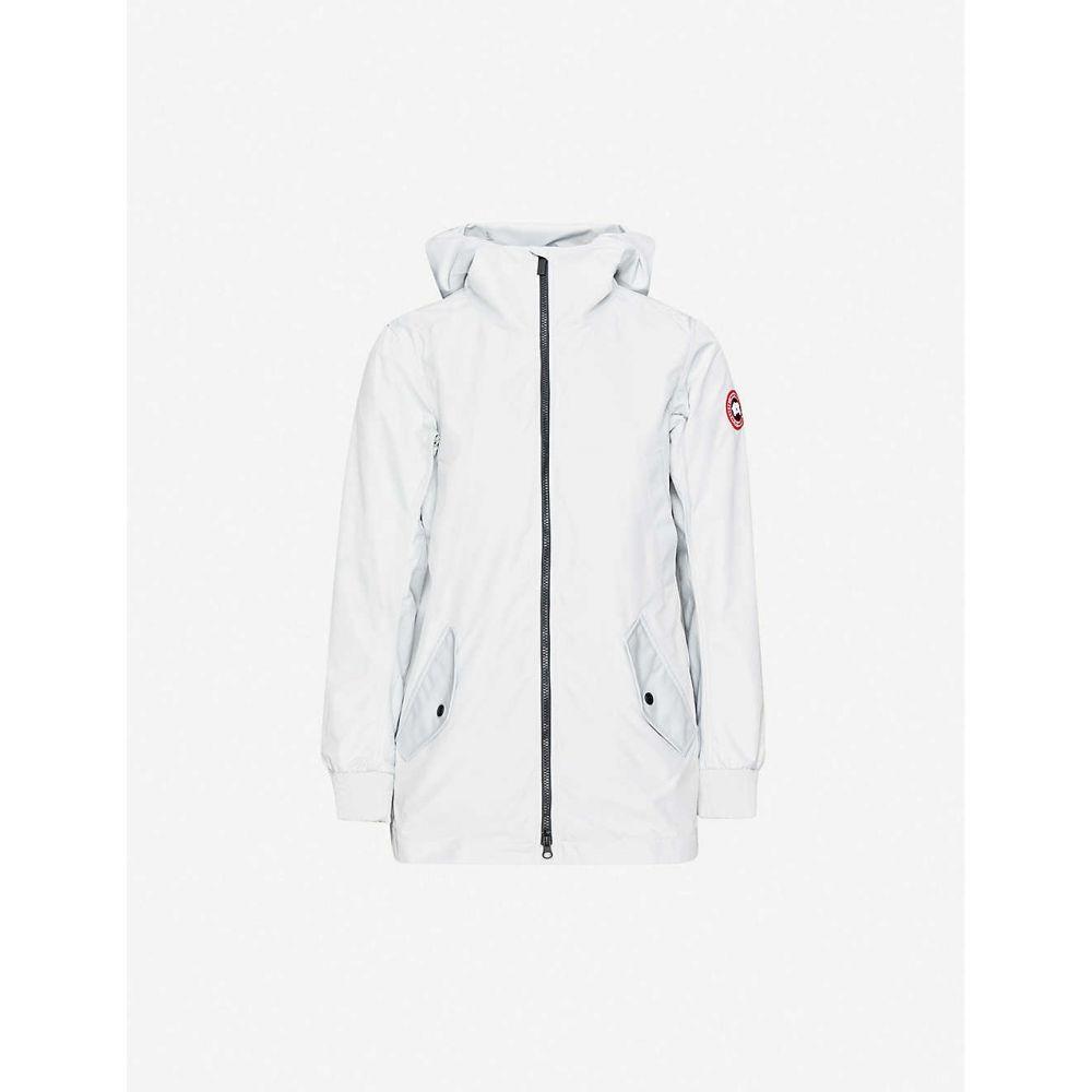 カナダグース CANADA GOOSE レディース ジャケット フード シェルジャケット アウター【Ellscott hooded shell jacket】Silverbirch