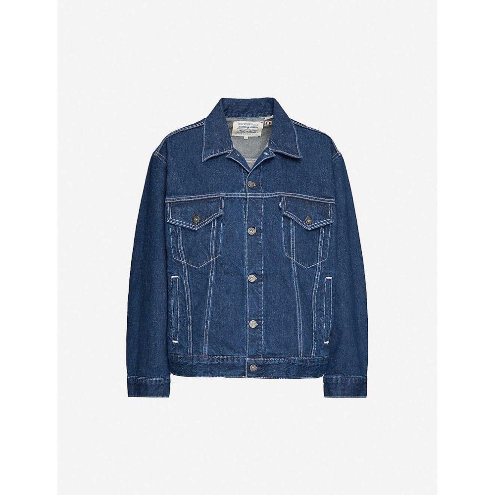 リーバイス LEVIS MADE & CRAFTED レディース ジャケット Gジャン アウター【The Trucker denim jacket】Lmc Majorelle Blue