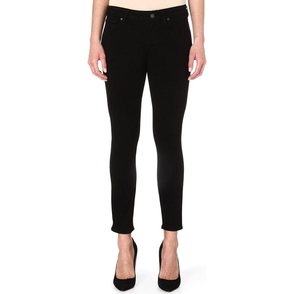 ペイジ PAIGE レディース ジーンズ・デニム ボトムス・パンツ【Verdugo Crop skinny mid-rise jeans】BLACK OVERDYE