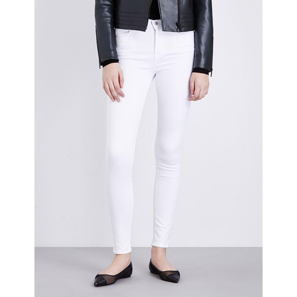 ジェイ ブランド J BRAND レディース ジーンズ・デニム ボトムス・パンツ【Maria skinny high-rise jeans】BLANC