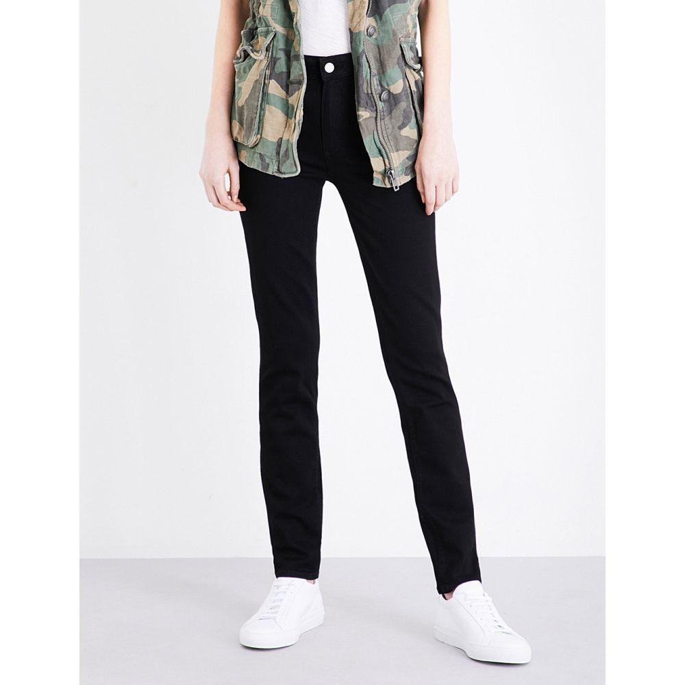 ペイジ PAIGE レディース ジーンズ・デニム ボトムス・パンツ【Hoxton skinny mid-rise jeans】BLACK SHADOW