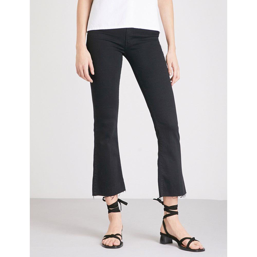 マザー MOTHER レディース ジーンズ・デニム ボトムス・パンツ【Hustler Ankle Fray flared high-rise jeans】NOT GUILTY