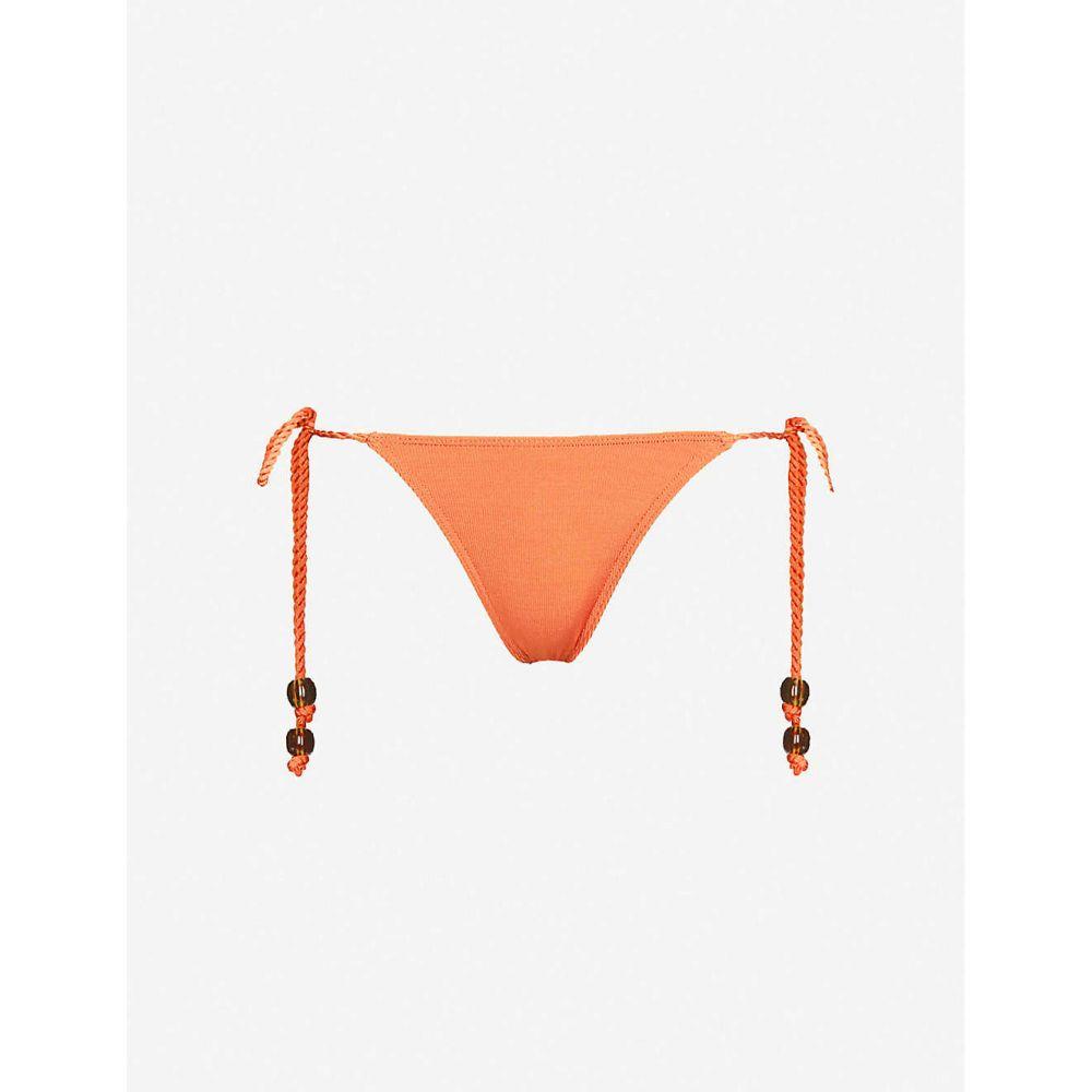 トロピック オブ シー TROPIC OF C レディース ボトムのみ 水着・ビーチウェア【Zanzibar mid-rise bikini bottoms】SPICE