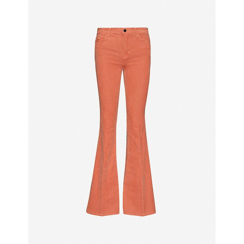 ジェイ ブランド J BRAND レディース ボトムス・パンツ 【Valentina mid-rise corduroy flared trousers】Sambar