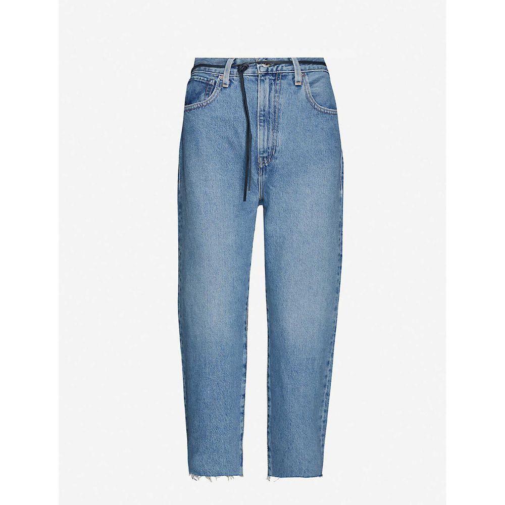 リーバイス LEVIS MADE & CRAFTED レディース ジーンズ・デニム ボトムス・パンツ【Barell high-rise straight organic cotton jeans】Lmc Palm Blues