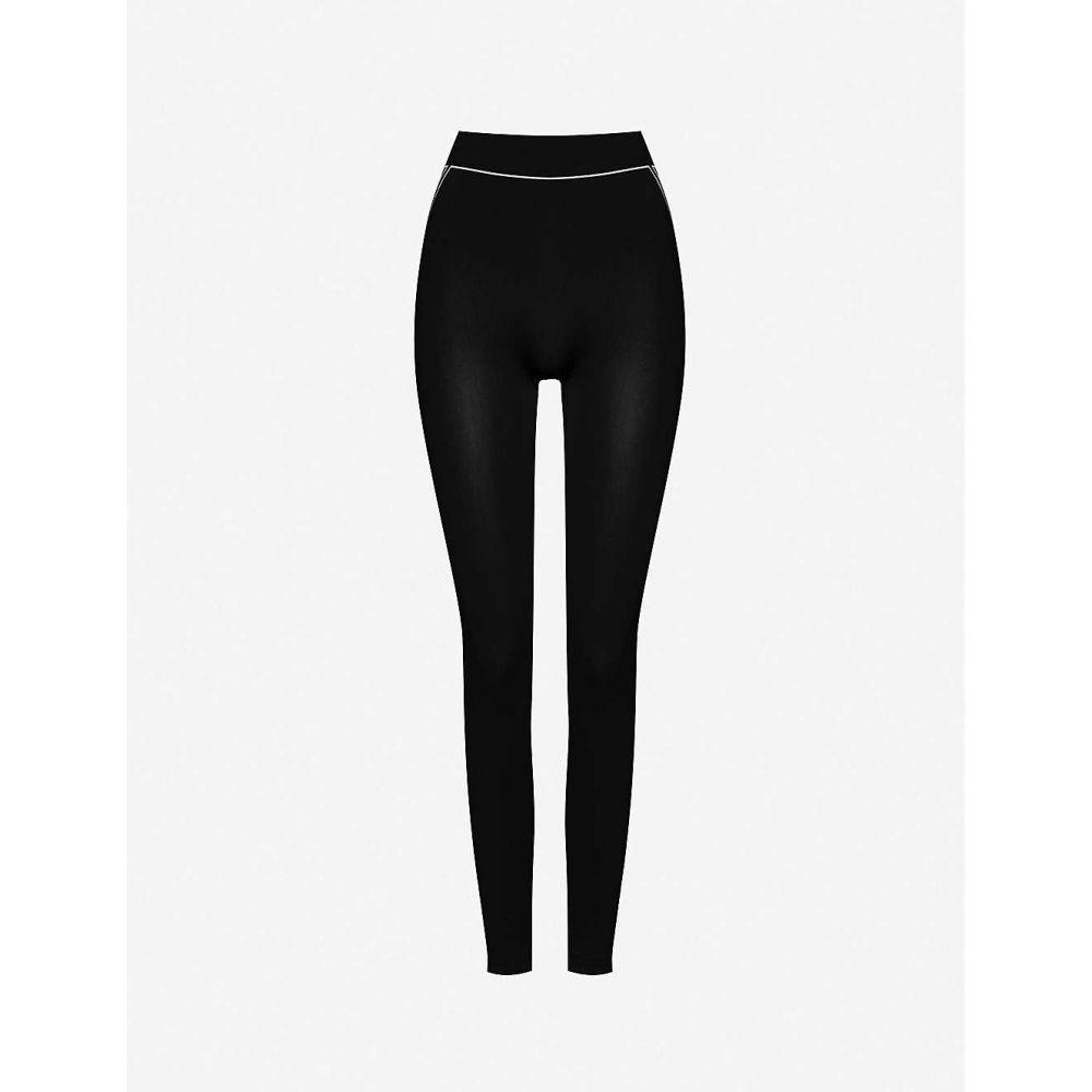 ウォルフォード WOLFORD レディース スパッツ・レギンス インナー・下着【Theresa stretch-woven leggings】WHITE BLACK