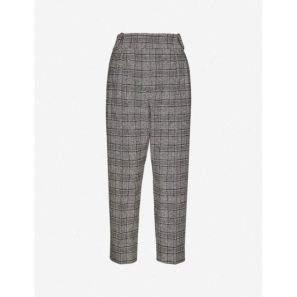 リース REISS レディース ボトムス・パンツ 【Arya checked wool-blend trousers】MULTI