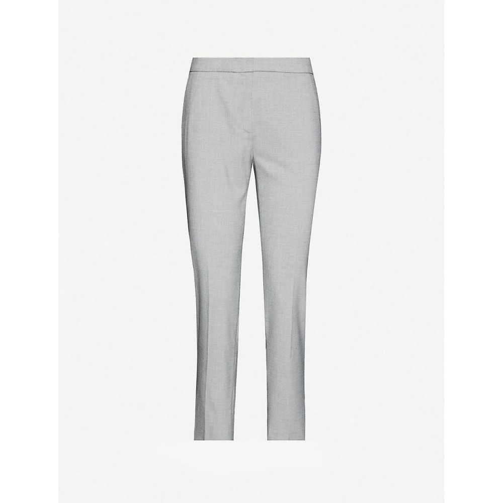 クローディ ピエルロ CLAUDIE PIERLOT レディース ボトムス・パンツ 【Mid-rise straight woven trousers】GRIS CHINE CLAIR