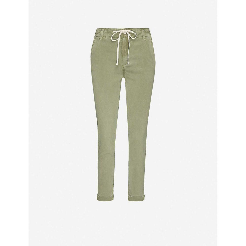 ペイジ PAIGE レディース ボトムス・パンツ 【Christy stretch-lyocell trousers】Vintage Coastal Green