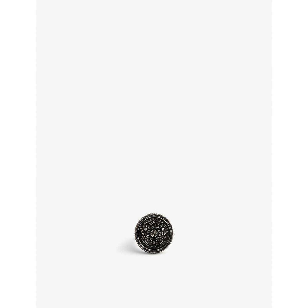 アレキサンダー マックイーン ALEXANDER MCQUEEN メンズ 指輪・リング ジュエリー・アクセサリー【Medallion ring】Greige