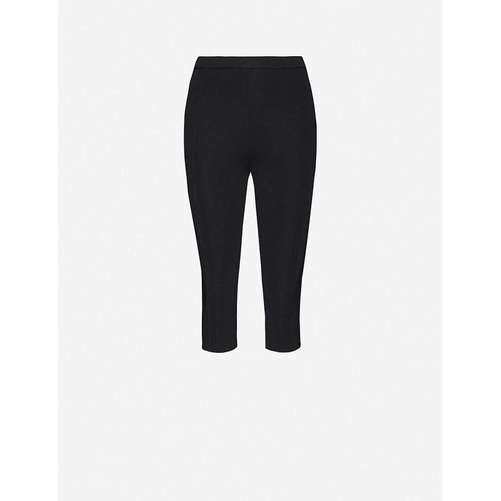 サンドロ SANDRO レディース スパッツ・レギンス インナー・下着【Jyll knitted leggings】BLACK