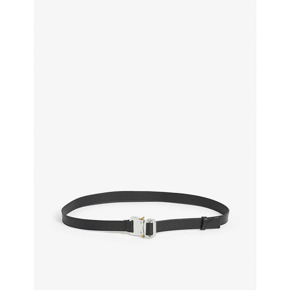 アリクス 1017 ALYX 9SM レディース ベルト 【Leather rollercoaster buckle belt】Blk/black