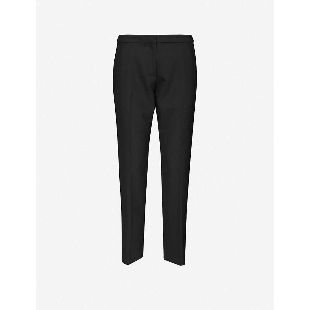 ドリス ヴァン ノッテン DRIES VAN NOTEN レディース ボトムス・パンツ 【Tapered mid-rise twill trousers】BLACK