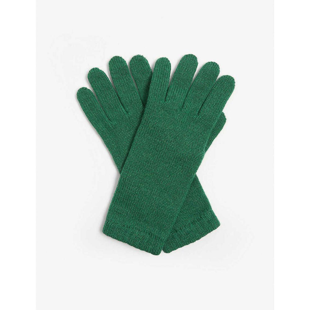 ジョンストンズ JOHNSTONS レディース 手袋・グローブ 【Cashmere gloves】EMERALD