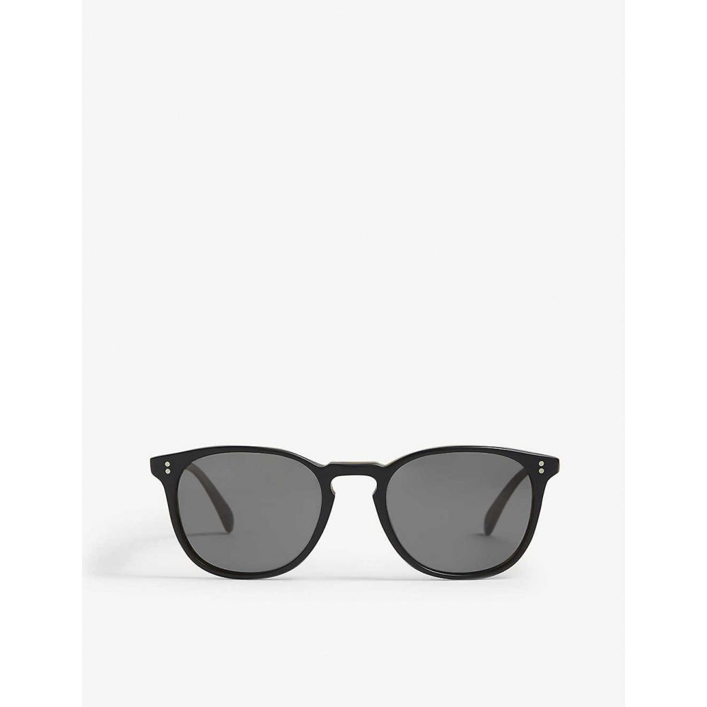 オリバーピープルズ OLIVER PEOPLES レディース メガネ・サングラス スクエアフレーム【OV5298 Finley Esq. square-frame sunglasses】Black