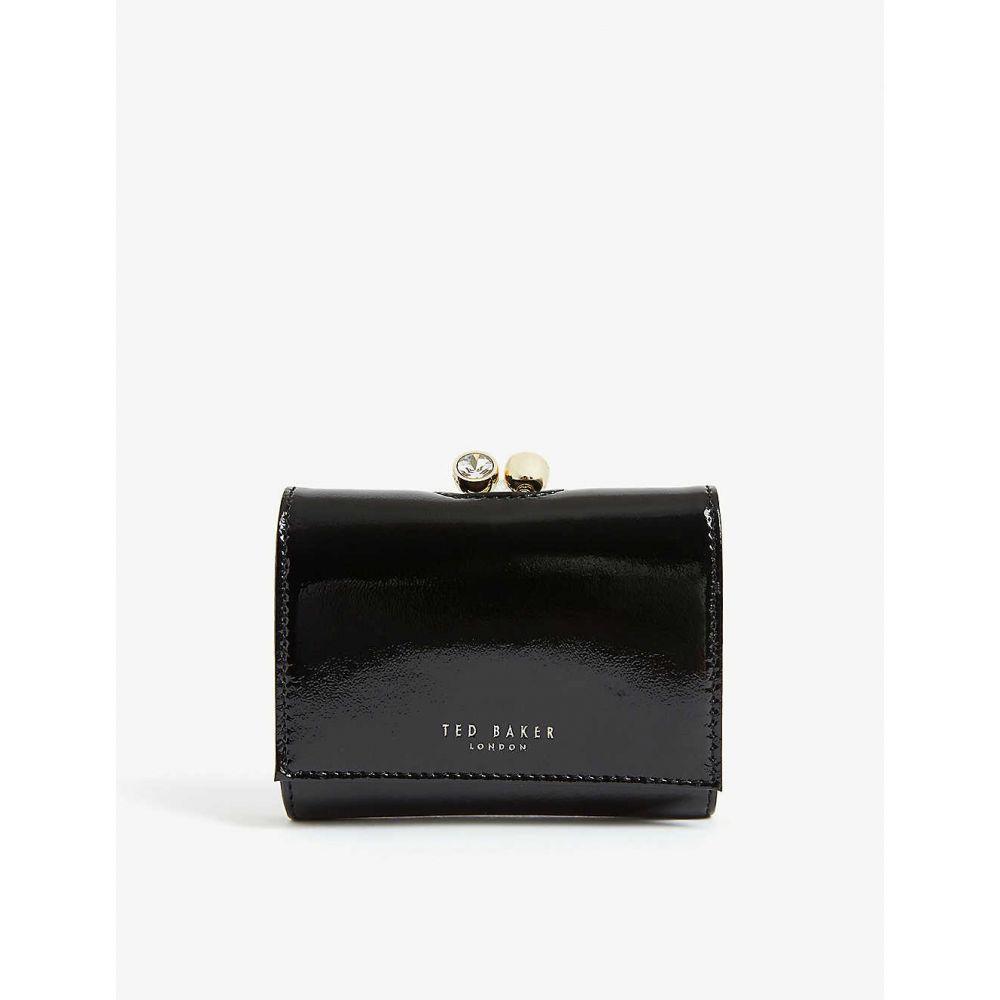 テッドベーカー TED BAKER レディース 財布 【Suri mini leather bobble purse】BLACK