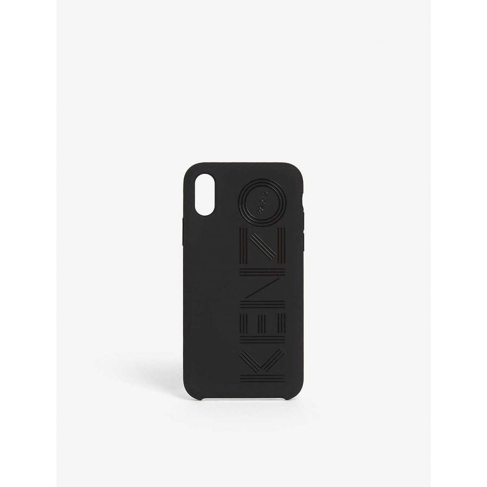 ケンゾー KENZO レディース iPhone (X)ケース 【Logo iPhone X/Xs case】BLACK