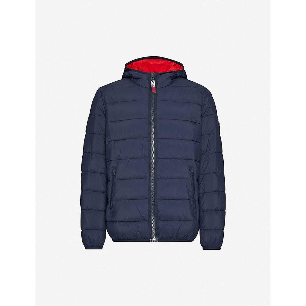 トミー ジーンズ TOMMY JEANS メンズ ジャケット フード シェルジャケット アウター【Padded shell hooded jacket】BLACK IRIS
