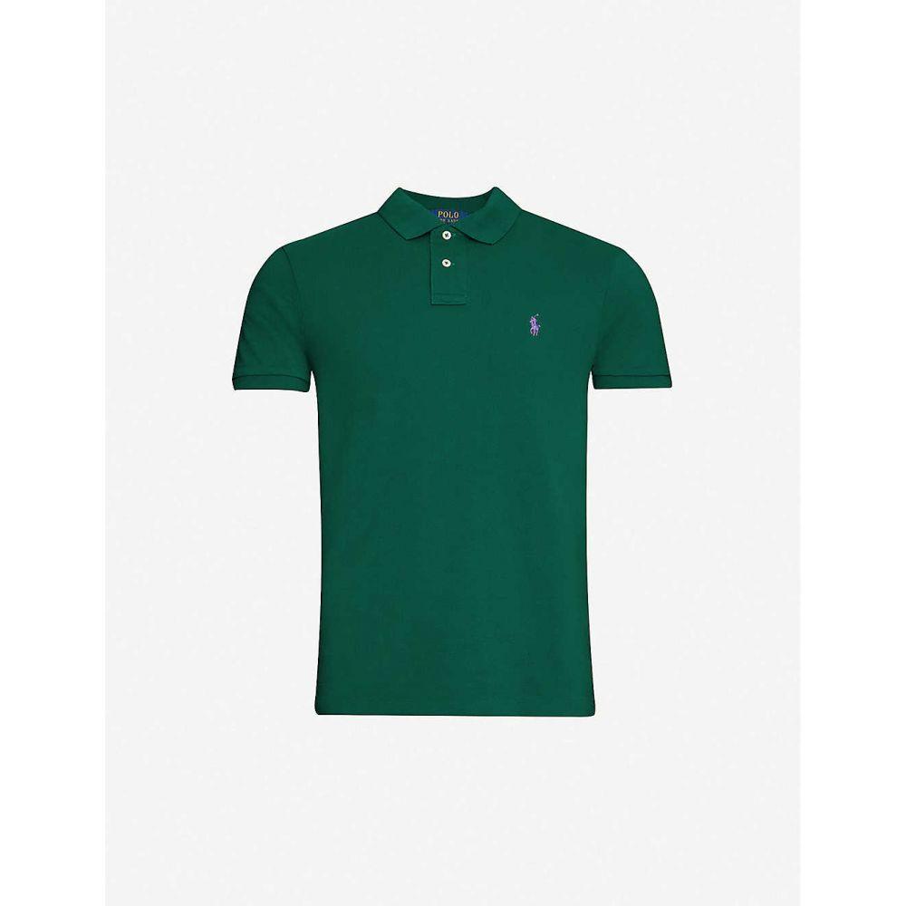 ラルフ ローレン POLO RALPH LAUREN メンズ ポロシャツ トップス【Logo-embroidered cotton-pique polo shirt】New Forest