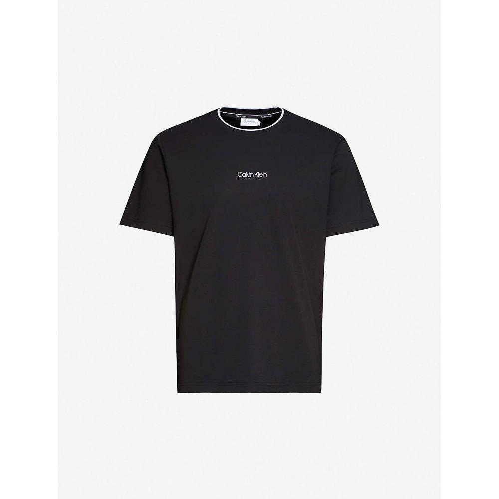 カルバンクライン CALVIN KLEIN メンズ Tシャツ トップス【Compact logo cotton-jersey T-shirt】Multi