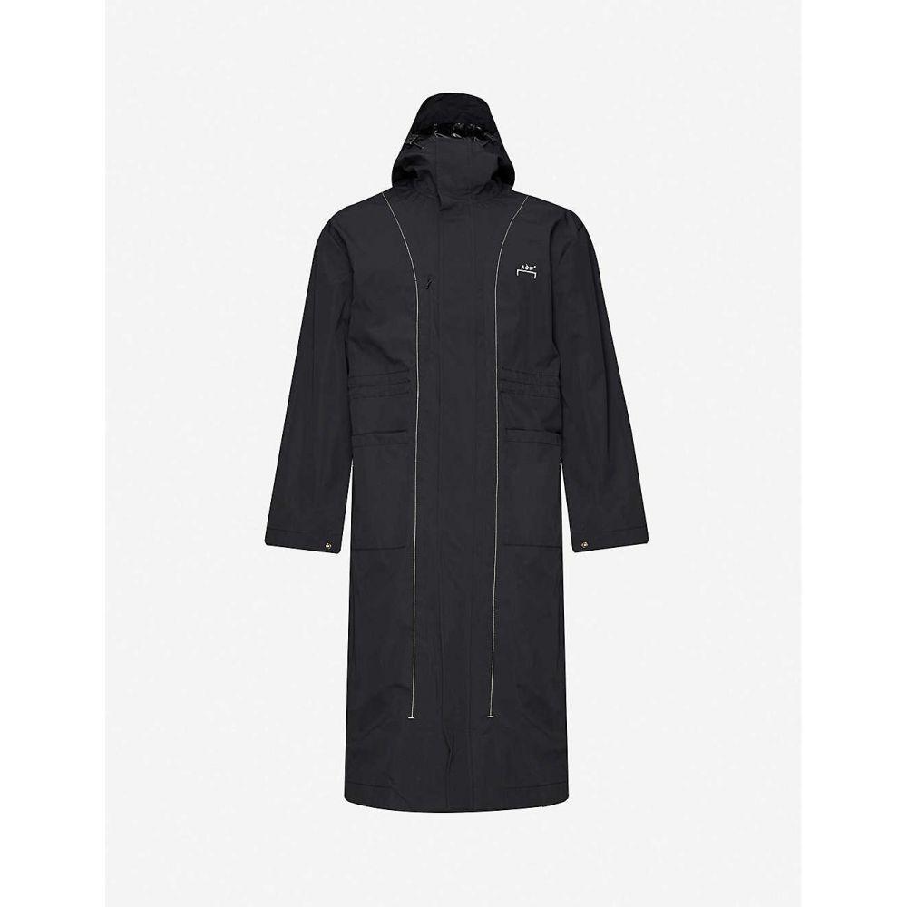 アコールドウォール A-COLD-WALL メンズ コート アウター【Funnel-neck drawstring-hood shell coat】BLACK
