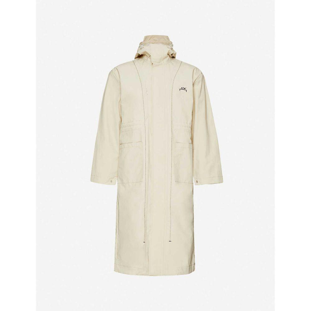 アコールドウォール A-COLD-WALL メンズ コート アウター【Funnel-neck drawstring-hood shell coat】Moonbeam