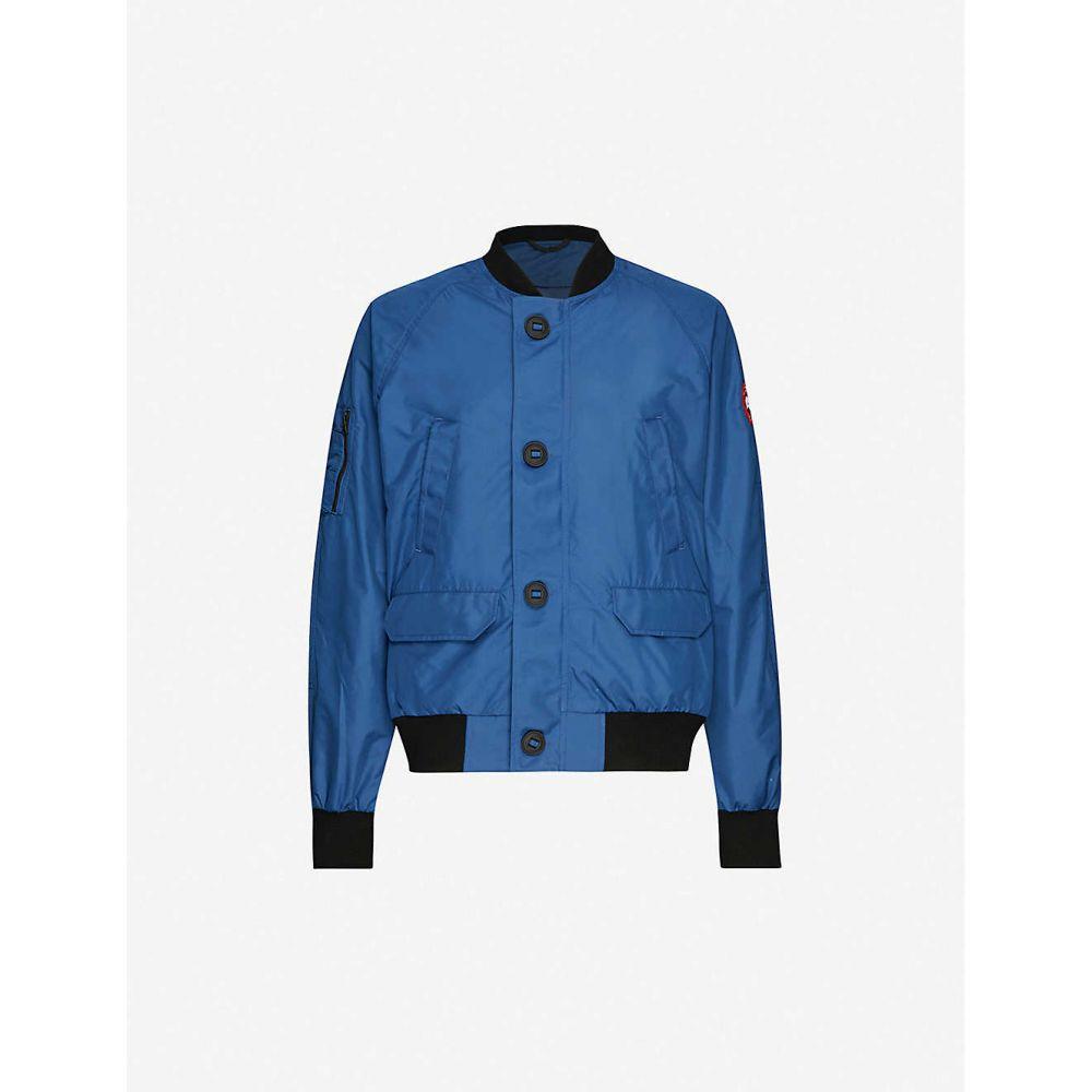 カナダグース CANADA GOOSE メンズ ブルゾン ミリタリージャケット シェルジャケット アウター【Faber shell bomber jacket】Tempest Blue