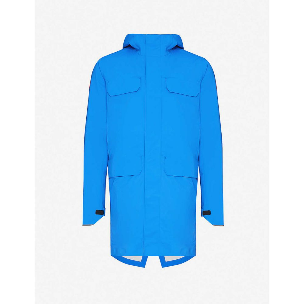 カナダグース CANADA GOOSE メンズ ジャケット シェルジャケット ロング アウター【Seawolf longline shell jacket】Royal Pbi Blue