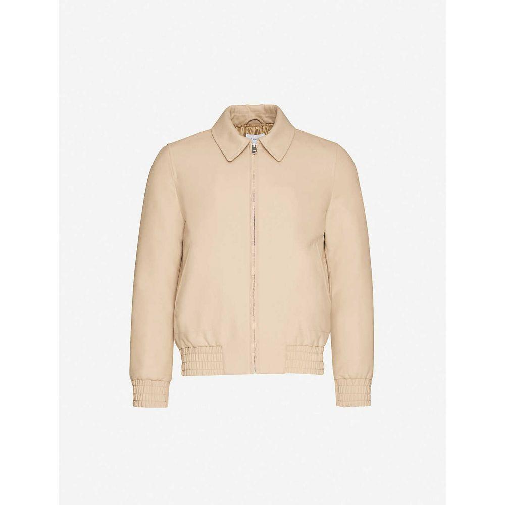 リース REISS メンズ ジャケット アウター【Moat relaxed-fit wool-blend jacket】CAMEL