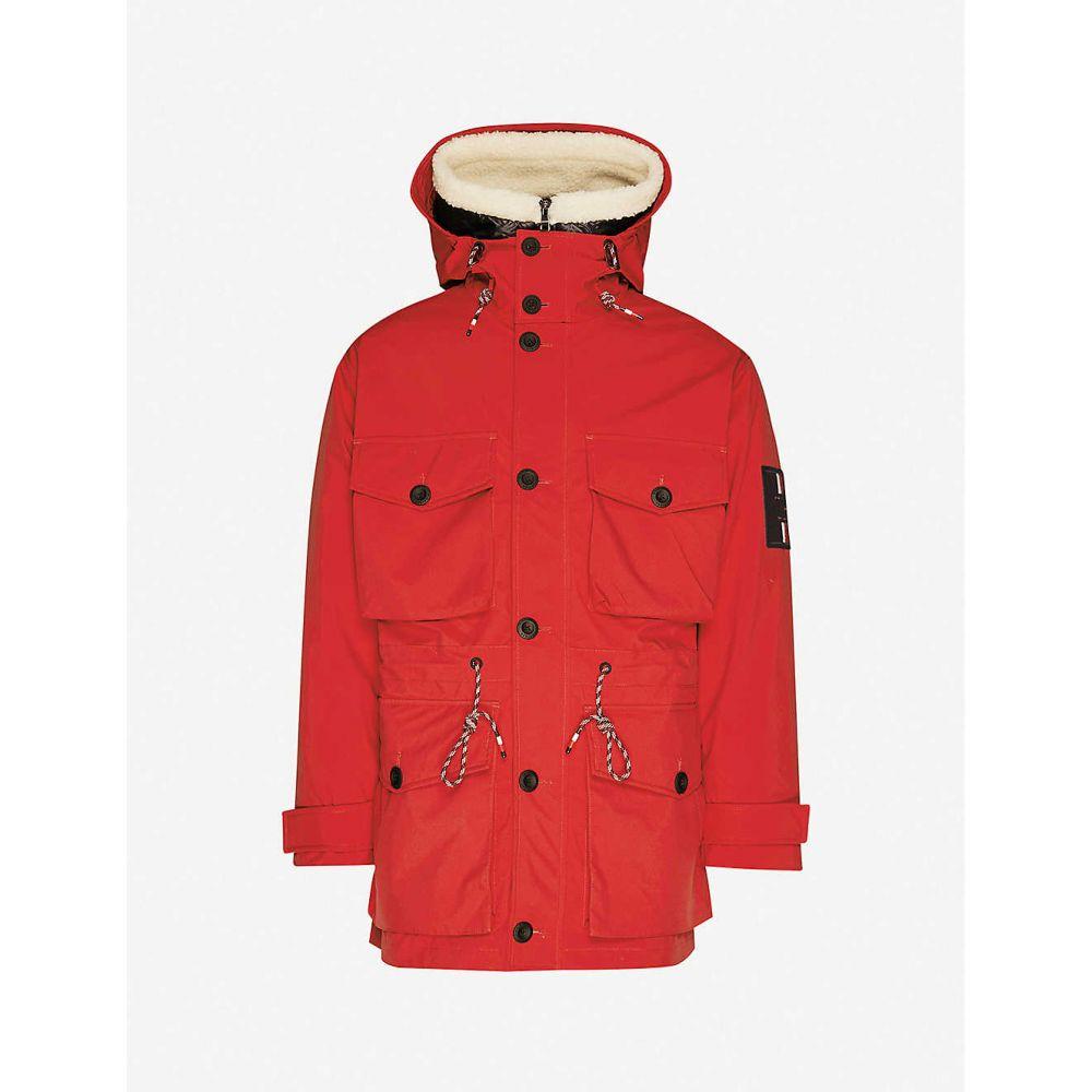 トミー ヒルフィガー TOMMY HILFIGER メンズ ジャケット シェルジャケット アウター【3-I-1 Field shell jacket】Red