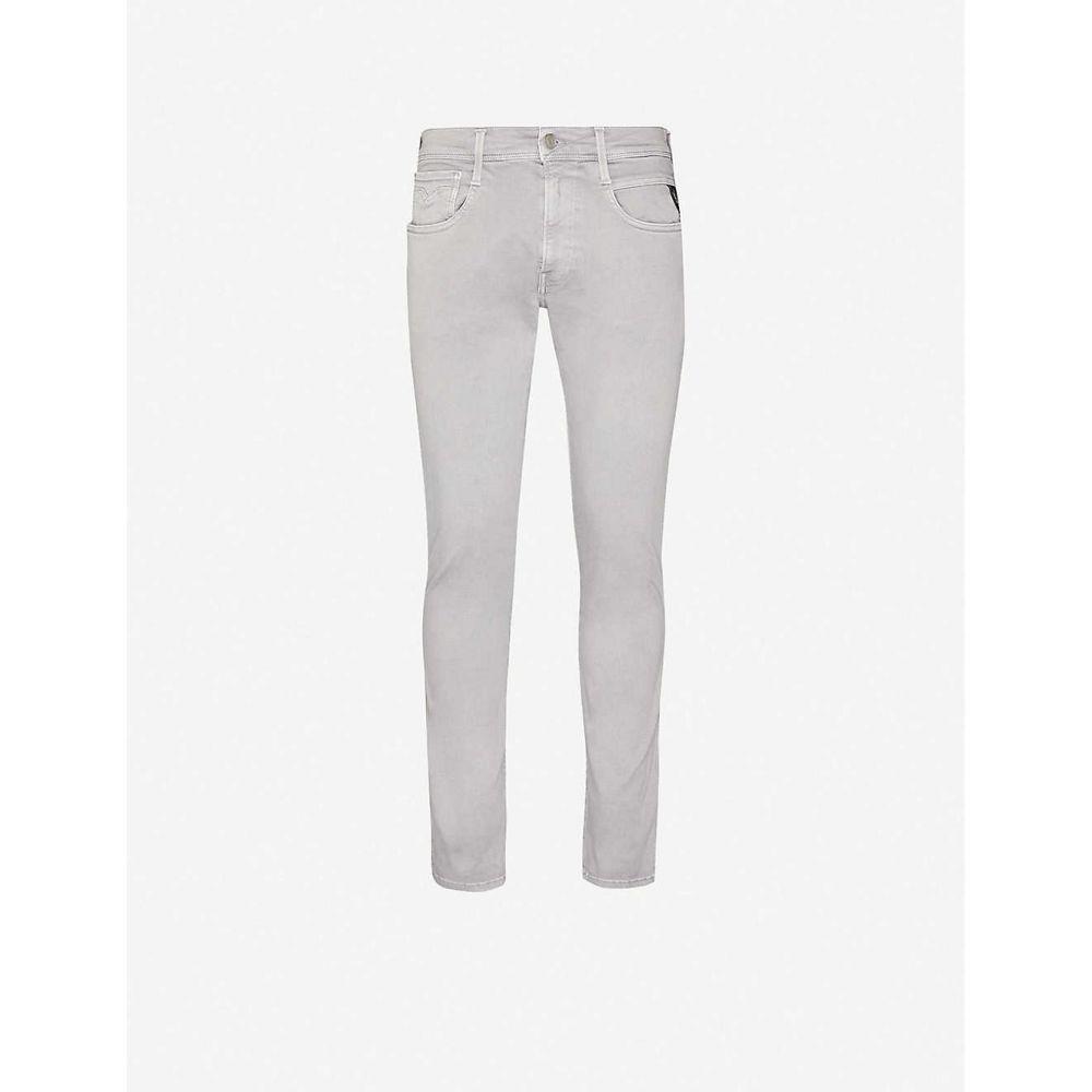 リプレイ REPLAY メンズ ジーンズ・デニム ボトムス・パンツ【Zeumar stretch-denim jeans】Stone Grey