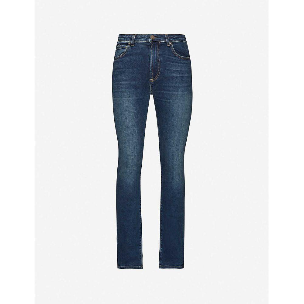 モンフレール MONFRERE メンズ ジーンズ・デニム ボトムス・パンツ【Brando slim-fit cotton-blend denim jeans】Milan