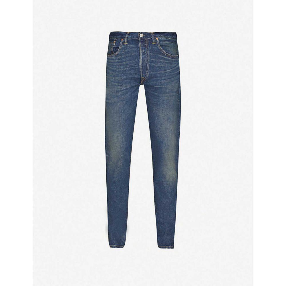 ダブルアールエル RRL メンズ ジーンズ・デニム ボトムス・パンツ【Slim-fit faded jeans】BLUE