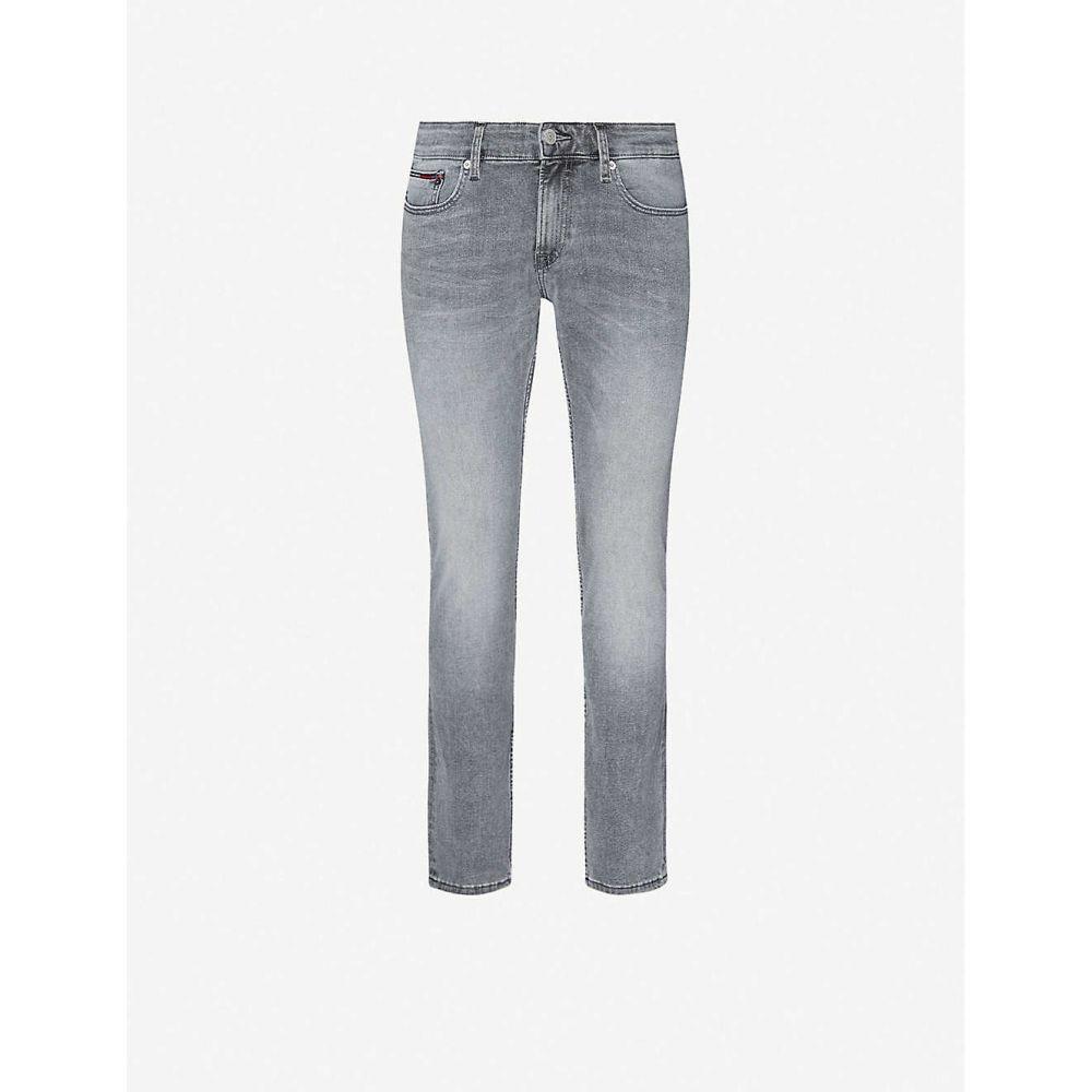 トミー ジーンズ TOMMY JEANS メンズ ジーンズ・デニム ボトムス・パンツ【Scanton faded straight jeans】Grey Black