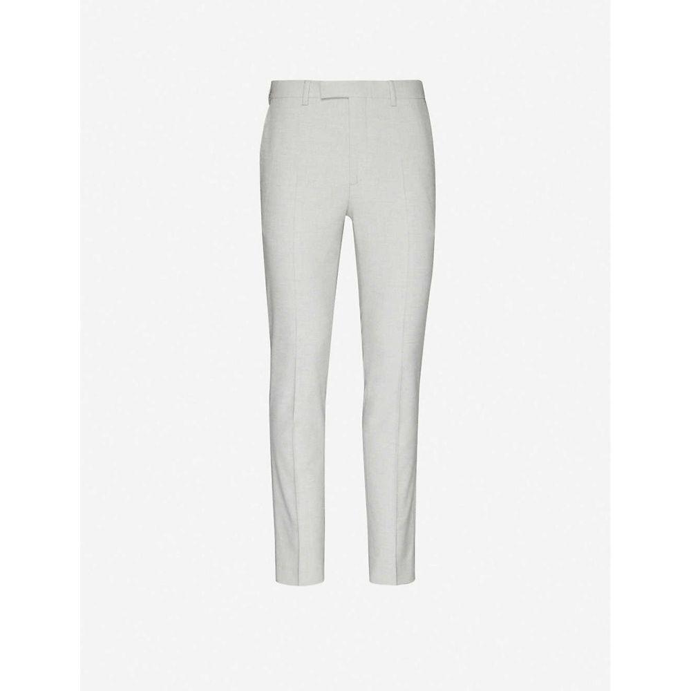 リース REISS メンズ ボトムス・パンツ 【View stretch-woven trousers】GREY
