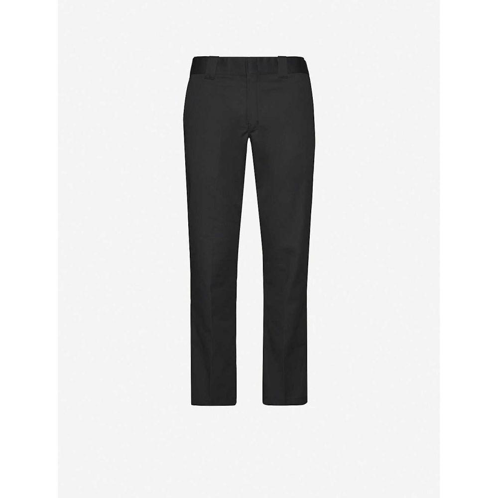 ディッキーズ DICKIES メンズ ボトムス・パンツ 【Straight-leg stretch-twill trousers】BLACK