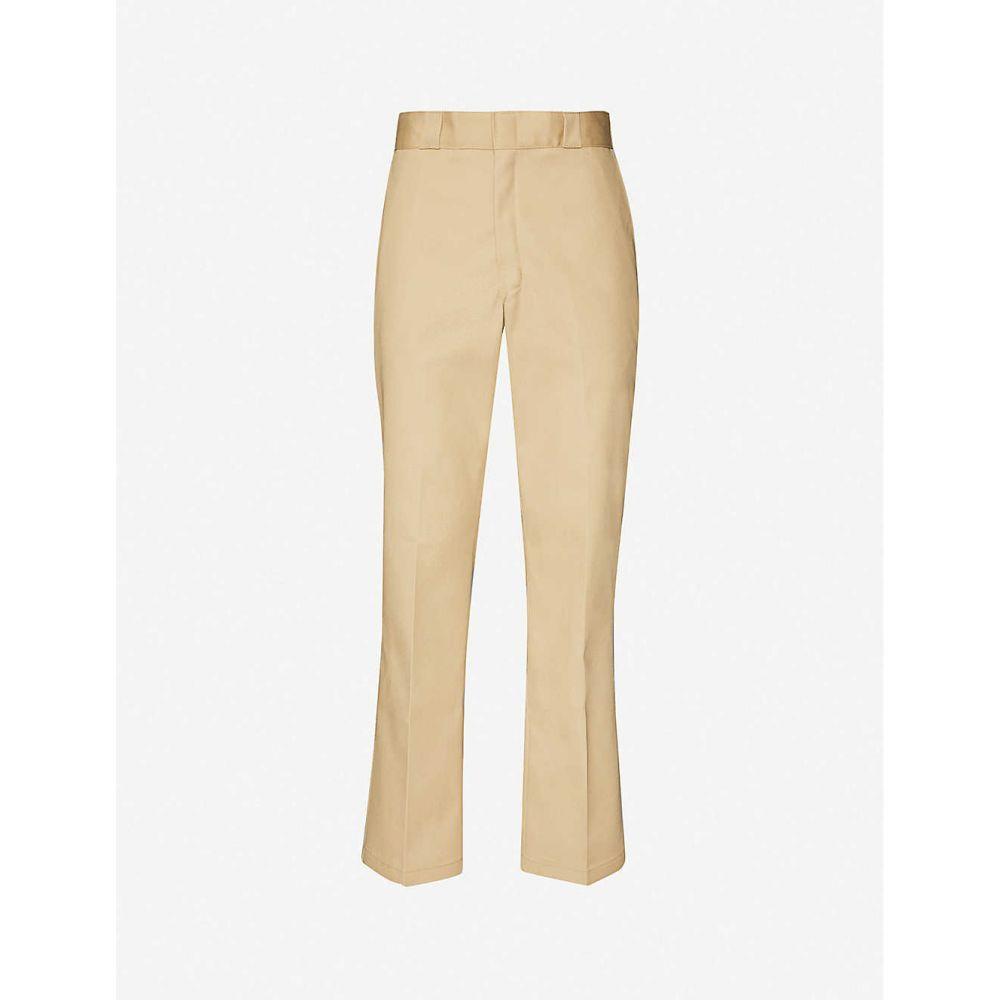 ディッキーズ DICKIES メンズ ボトムス・パンツ 【Original 874 straight-leg cotton-stretch trousers】Khaki