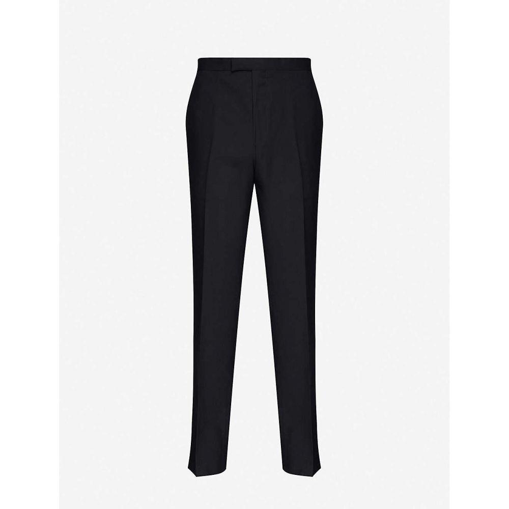 リース REISS メンズ ボトムス・パンツ 【Villa slim-fit straight wool trousers】NAVY
