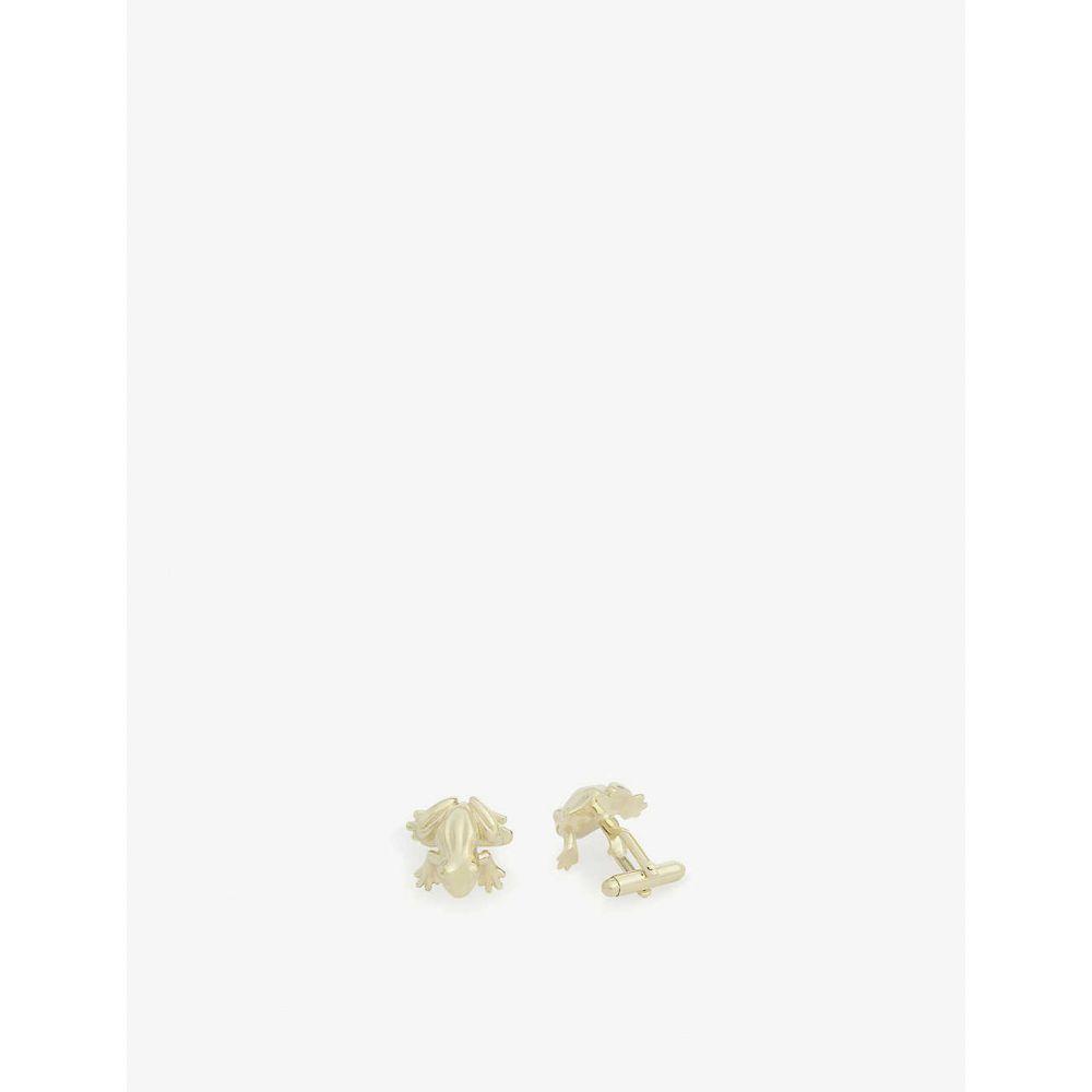 ランバン LANVIN メンズ カフス・カフリンクス 【Frog cufflinks】GOLD