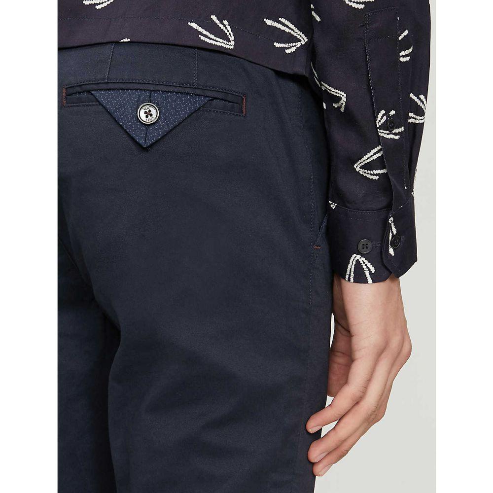 テッドベーカー TED BAKER メンズ チノパン ボトムス・パンツ Slim fit tapered cotton blensChrtQd