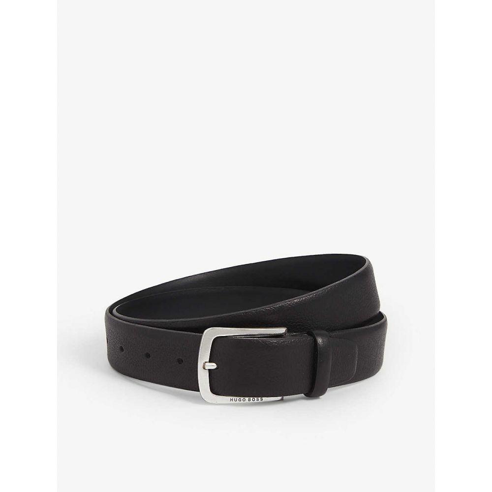 ヒューゴ ボス BOSS メンズ ベルト 【Jor grained leather belt】BLACK